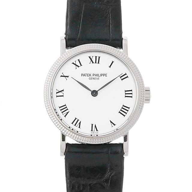 パテックフィリップ カラトラバ 4809G-001 レディース(0A89PPAU0002)【中古】【腕時計】【送料無料】