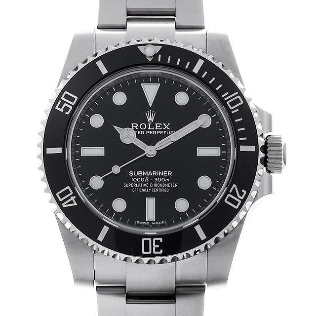 ロレックス サブマリーナ ノンデイト 114060 ランダムシリアル メンズ(0L8UROAU0001)【中古】【腕時計】【送料無料】