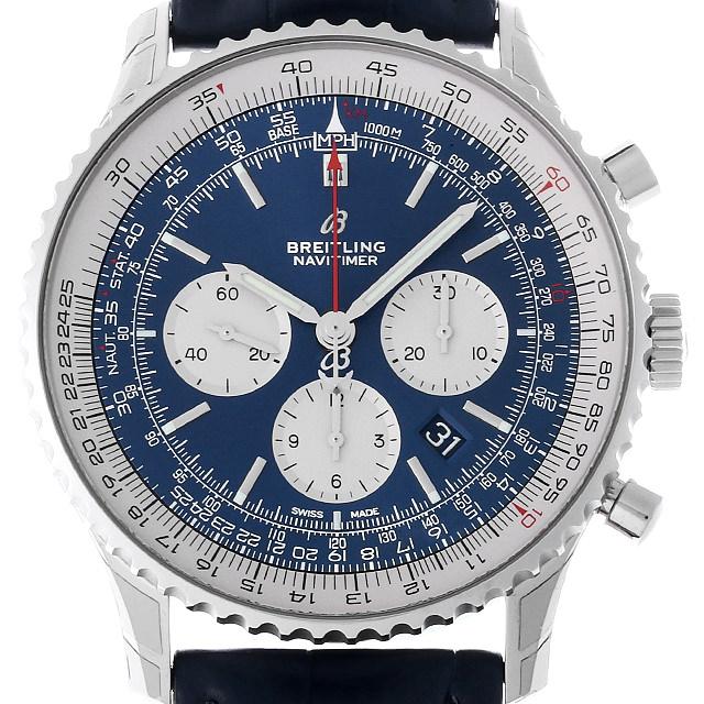 【48回払いまで無金利】ブライトリング ナビタイマー1 B01 クロノグラフ A017C-1WBA(AB0127) メンズ(006MBRAR0014)【新品】【腕時計】【送料無料】