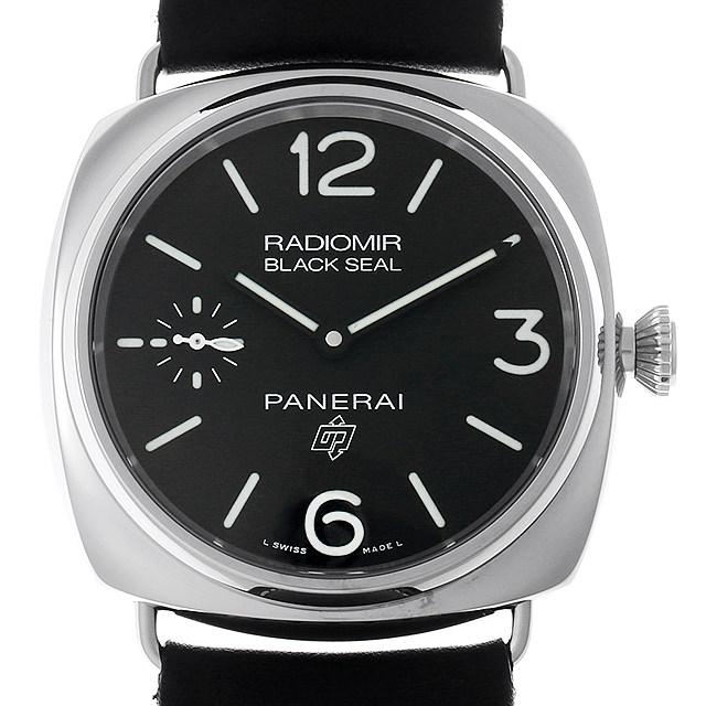 パネライ ラジオミール ブラックシール ロゴ 3デイズ アッチャイオ U番 PAM00754 メンズ(0088OPAN0023)【新品】【腕時計】【送料無料】