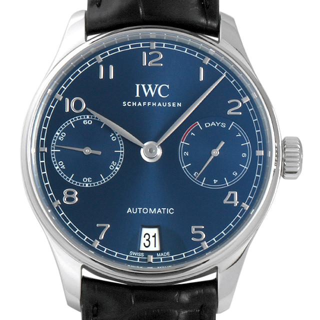 IWC ポルトギーゼ オートマティック IW500710 メンズ(008WIWAS0003)【中古】【未使用】【腕時計】【送料無料】