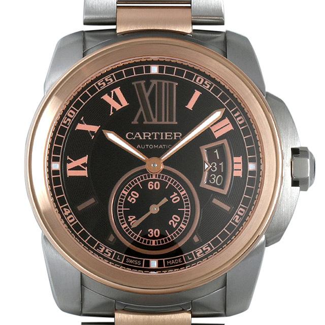 【48回払いまで無金利】SALE カルティエ カリブル ドゥ カルティエ W7100050 メンズ(008KCAAU0058)【中古】【腕時計】【送料無料】