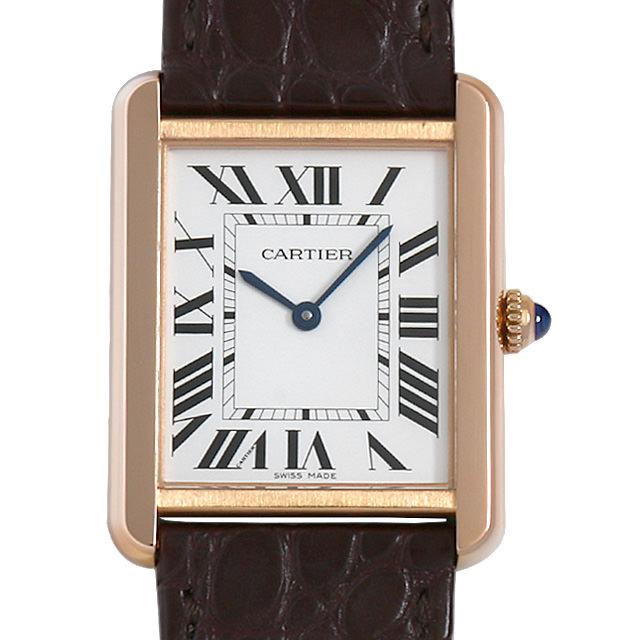 【48回払いまで無金利】カルティエ タンクソロ LM W5200025 メンズ(0LAYCAAU0001)【中古】【腕時計】【送料無料】