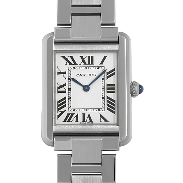 カルティエ タンクソロ SM W5200013 レディース(0014CAAU0029)【中古】【腕時計】【送料無料】