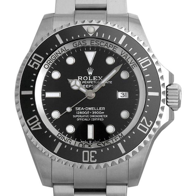 【48回払いまで無金利】ロレックス ディープシー 126660 ブラック ランダムシリアル メンズ(0050ROAU0080)【中古】【腕時計】【送料無料】
