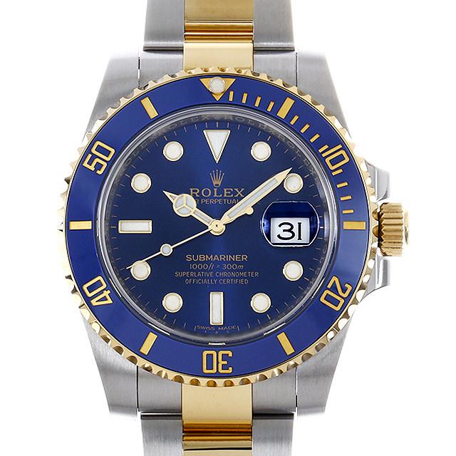 SALE ロレックス サブマリーナ デイト 116613LB ブルー ランダムシリアル メンズ(006XROAU1076)【中古】【腕時計】【送料無料】