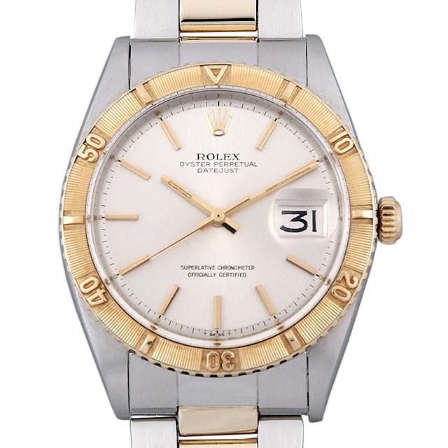 【48回払いまで無金利】ロレックス デイトジャスト サンダーバード 1625 シルバー/3列巻きブレス 26番 メンズ(007UROAA0114)【アンティーク】【腕時計】【送料無料】