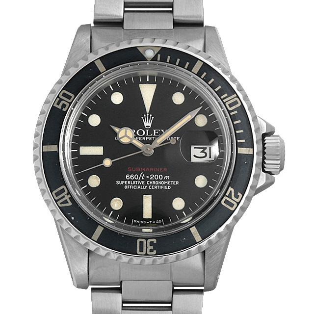 【48回払いまで無金利】ロレックス サブマリーナ デイト 1680 赤サブ マーク6ダイアル 37番 メンズ(007UROAA0117)【アンティーク】【腕時計】【送料無料】