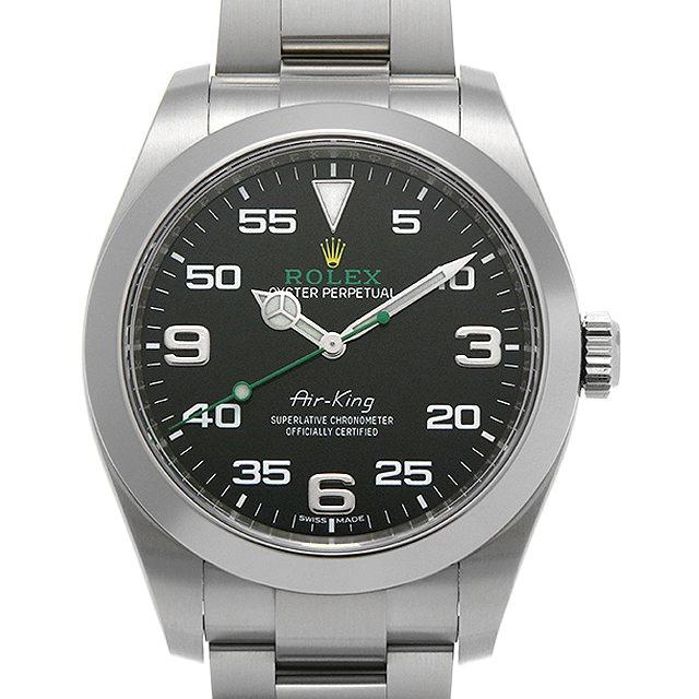 【48回払いまで無金利】ロレックス エアキング 116900 メンズ(007UROAU0586)【中古】【腕時計】【送料無料】