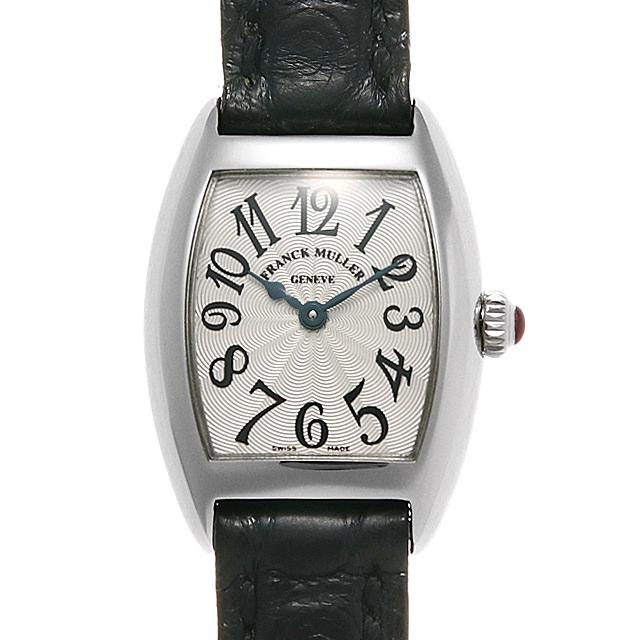 フランクミュラー トノーカーベックス プティ 2500QZ PT レディース(008WFRAU0098)【中古】【腕時計】【送料無料】