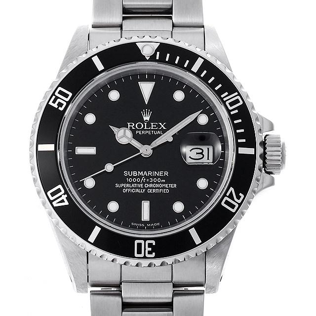 【48回払いまで無金利】ロレックス サブマリーナ デイト 16800 フチ有り 93番 メンズ(009VROAU0256)【中古】【腕時計】【送料無料】