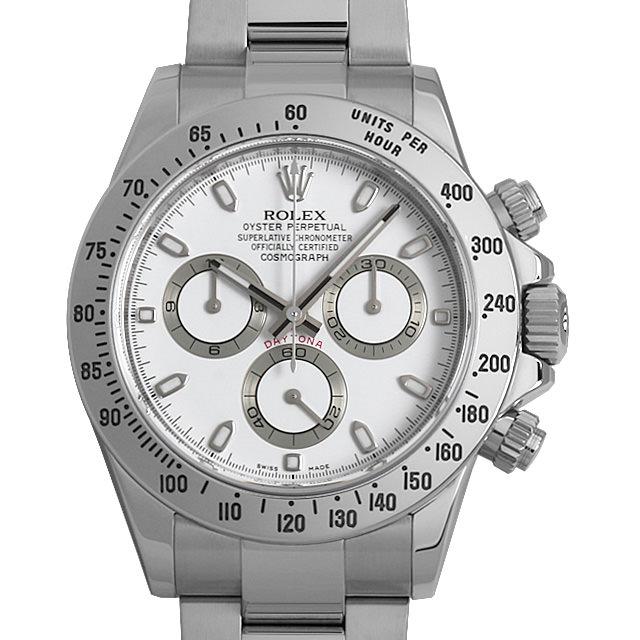SALE ロレックス コスモグラフ デイトナ 116520 ホワイト G番 メンズ(08Y1ROAU0003)【中古】【腕時計】【送料無料】