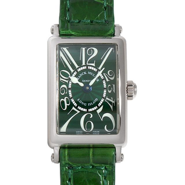 フランクミュラー ロングアイランド 802QZ WG レディース(0LQEFRAU0001)【中古】【腕時計】【送料無料】