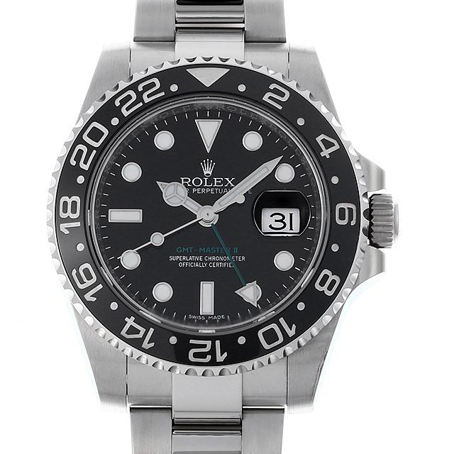 【48回払いまで無金利】ロレックス GMTマスターII 116710LN ランダムシリアル メンズ(0M2PROAU0001)【中古】【腕時計】【送料無料】