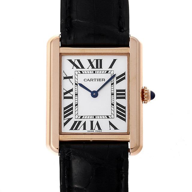 【48回払いまで無金利】カルティエ タンクソロ SM W5200024 レディース(0M4ACAAU0003)【中古】【腕時計】【送料無料】