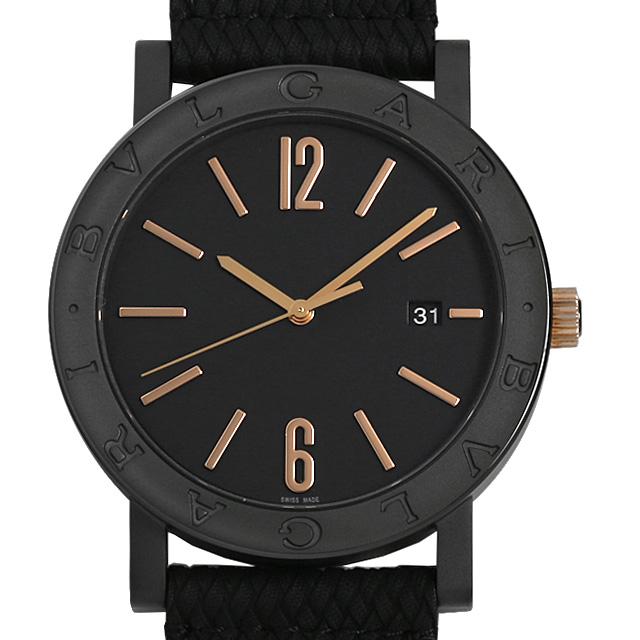 【48回払いまで無金利】ブルガリ ブルガリブルガリ ソロテンポ BB41BBCLD/MB メンズ(0FHMBVAN0005)【新品】【腕時計】【送料無料】