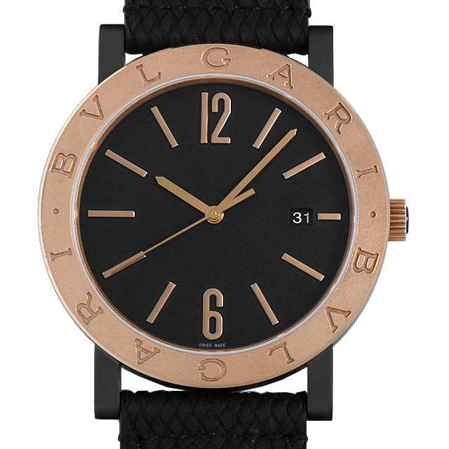 【48回払いまで無金利】ブルガリ ブルガリブルガリ ソロテンポ BB41C11BSD/MB メンズ(0671BVAN0031)【新品】【腕時計】【送料無料】