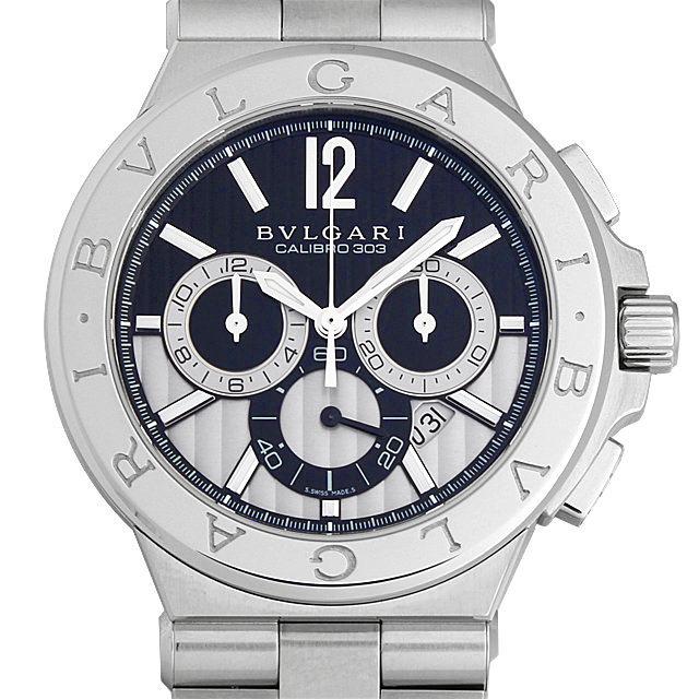 ブルガリ ディアゴノ カリブロ303 DG42BSSDCH メンズ(0068BVAN0075)【新品】【腕時計】【送料無料】