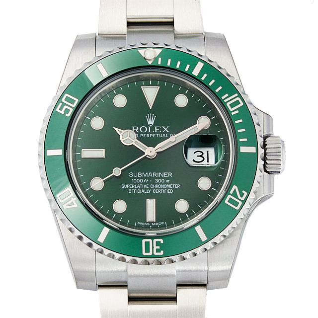 【48回払いまで無金利】ロレックス サブマリーナ デイト 116610LV グリーン メンズ(0CCTROAN0150)【新品】【腕時計】【送料無料】