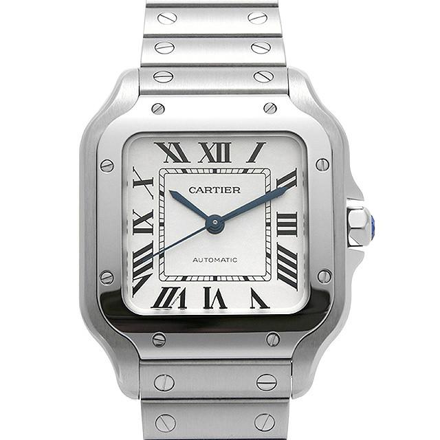 【48回払いまで無金利】カルティエ サントス ドゥ カルティエ MM WSSA0010 メンズ(006TCAAN0002)【新品】【腕時計】【送料無料】