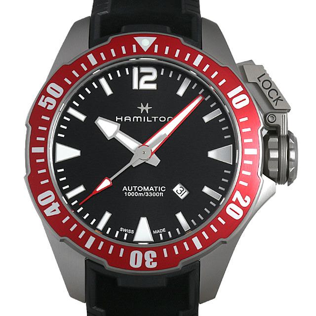 【48回払いまで無金利】ハミルトン カーキネイビー オープンウォーター H77805335 メンズ(006THMAN0166)【新品】【腕時計】【送料無料】