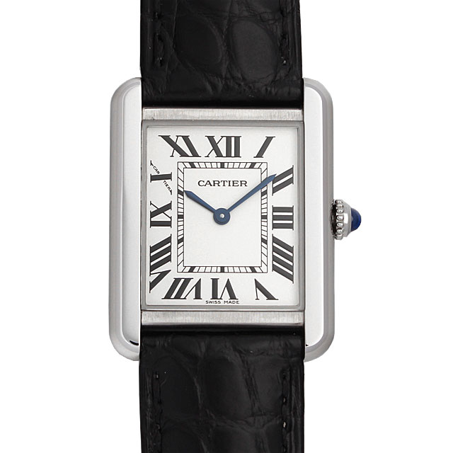 【48回払いまで無金利】カルティエ タンクソロ SM W5200005 レディース(0066CAAN0771)【新品】【腕時計】【送料無料】