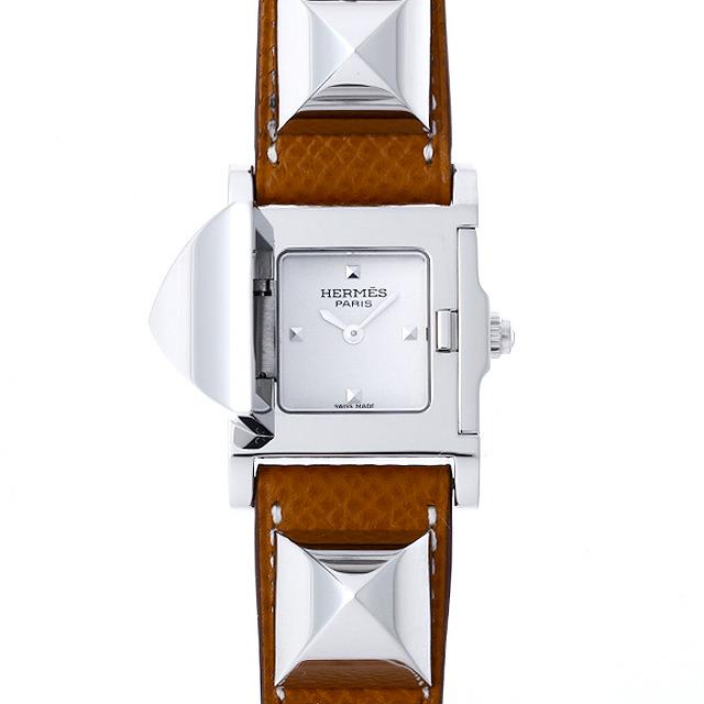 【48回払いまで無金利】エルメス メドール ME3.210 レディース(001HHEAU0020)【中古】【腕時計】【送料無料】
