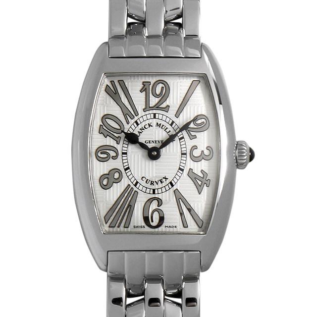 【48回払いまで無金利】フランクミュラー トノーカーベックス レリーフ アンサンブル 1752QZ REL V-R OAC レディース(006XFRAU0154)【中古】【腕時計】【送料無料】