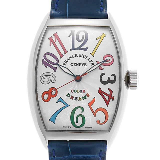 フランクミュラー トノーカーベックス カラードリーム 7851SC COL DRM AC メンズ(007UFRAU0160)【中古】【腕時計】【送料無料】