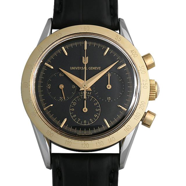 ユニバーサルジュネーブ ゴールデンコンパックス 1950 284.445/925 メンズ(007UUJAU0002)【中古】【腕時計】【送料無料】