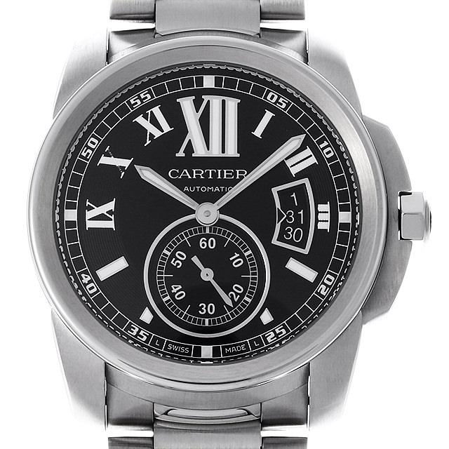 【48回払いまで無金利】カルティエ カリブル ドゥ カルティエ W7100016 メンズ(008WCAAU0156)【中古】【腕時計】【送料無料】