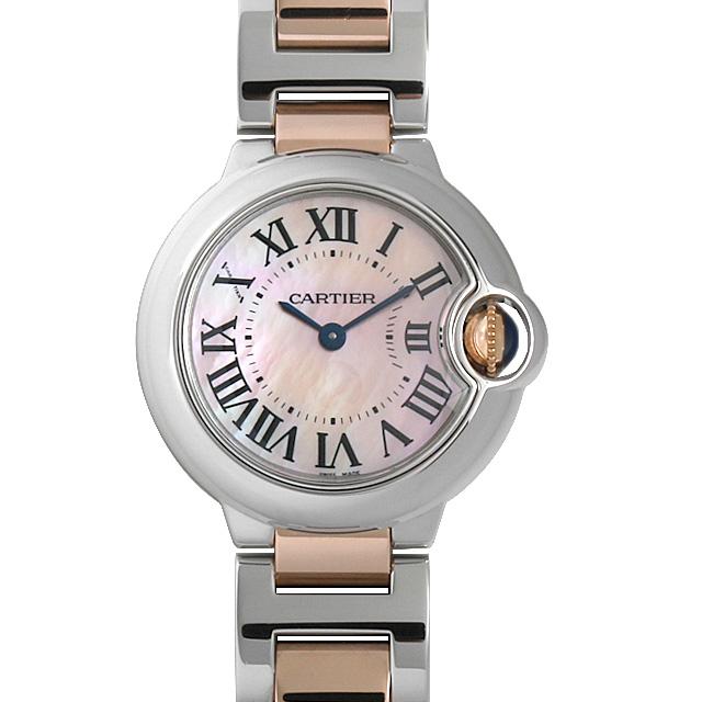 カルティエ バロンブルー SM W6920034 レディース(008WCAAU0164)【中古】【腕時計】【送料無料】