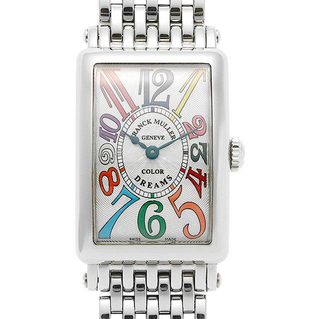 フランクミュラー ロングアイランド カラードリームス 902QZ COLOR DREAMS OAC レディース(008WFRAU0103)【中古】【腕時計】【送料無料】