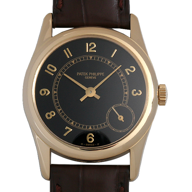 パテックフィリップ カラトラバ 5000J メンズ(008WPPAU0084)【中古】【腕時計】【送料無料】