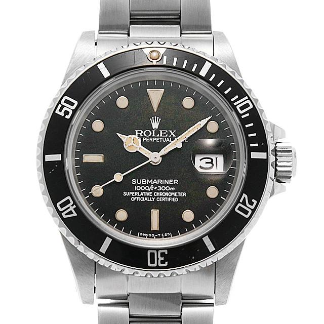 ロレックス サブマリーナ デイト 16800 フチ有り 85番 メンズ(03MPROAU0006)【中古】【腕時計】【送料無料】