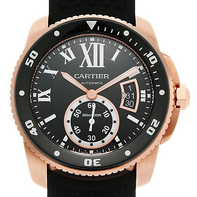 【48回払いまで無金利】カルティエ カリブル ドゥ カルティエ W7100052 メンズ(095KCAAU0001)【中古】【腕時計】【送料無料】