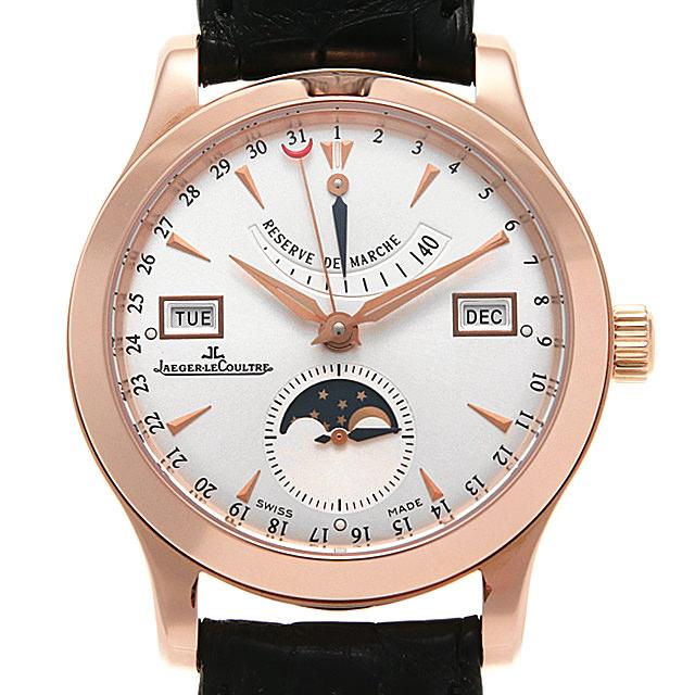 ジャガールクルト マスターカレンダー Q151242A(147.2.41.S) メンズ(095KJLAU0001)【中古】【腕時計】【送料無料】