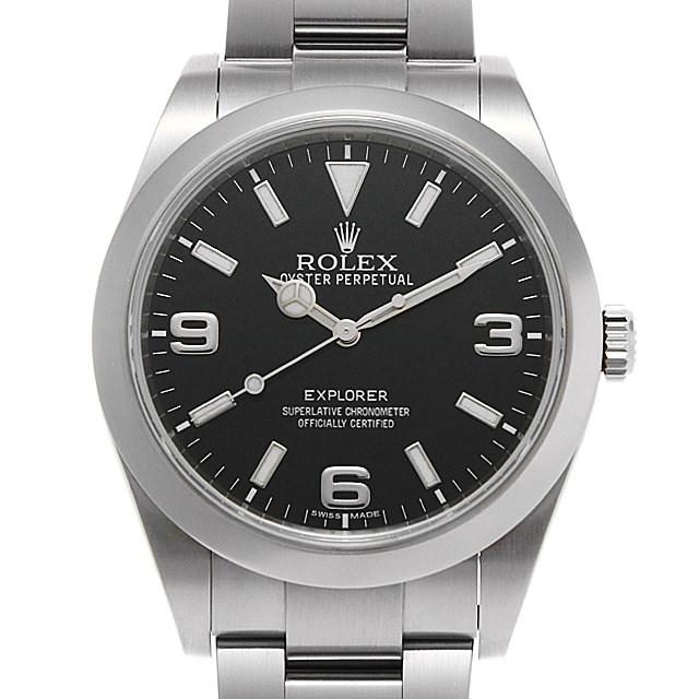 【48回払いまで無金利】ロレックス エクスプローラー 214270 ランダムシリアル メンズ(0BCCROAU0067)【中古】【腕時計】【送料無料】