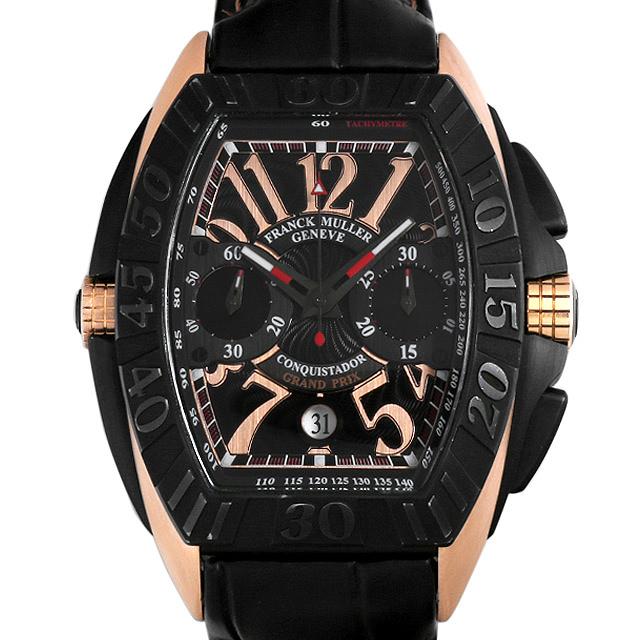 フランクミュラー コンキスタドール グランプリ クロノグラフ 8900CC GP メンズ(0DF7FRAU0004)【中古】【腕時計】【送料無料】