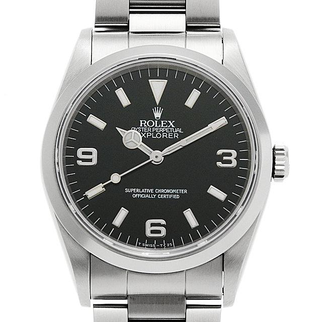 ロレックス エクスプローラーI 14270 X番 メンズ(0G7WROAU0001)【中古】【腕時計】【送料無料】