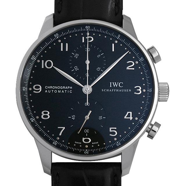 【48回払いまで無金利】IWC ポルトギーゼ クロノグラフ IW371447 メンズ(0LP0IWAU0001)【中古】【腕時計】【送料無料】