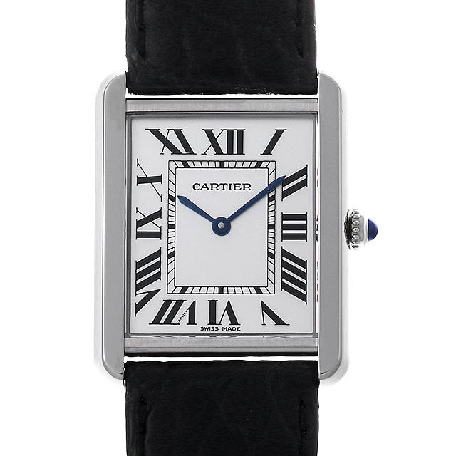 【48回払いまで無金利】カルティエ タンクソロ LM W1018355 メンズ(0M4ACAAU0002)【中古】【腕時計】【送料無料】