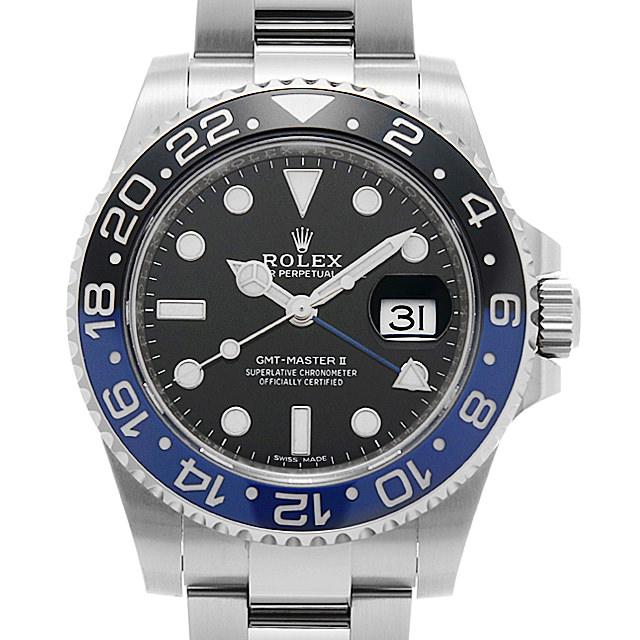 ロレックス GMTマスターII 116710BLNR メンズ(0MD5ROAU0001)【中古】【腕時計】【送料無料】