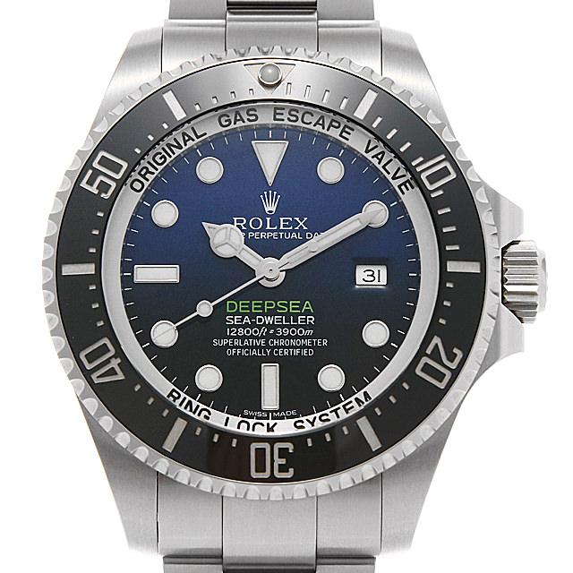 ロレックス ディープシー D-BLUEダイアル 116660 1番 メンズ(0MDXROAU0001)【中古】【腕時計】【送料無料】