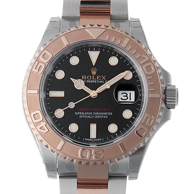 【48回払いまで無金利】ロレックス ヨットマスター40 116621 ブラック メンズ(0CCTROAN0172)【新品】【腕時計】【送料無料】