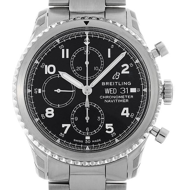 【48回払いまで無金利】ブライトリング ナビタイマー8 クロノグラフ43 A118B-1PSS メンズ(0FHMBRAN0004)【新品】【腕時計】【送料無料】