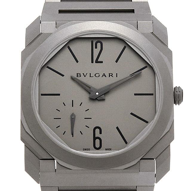 【48回払いまで無金利】ブルガリ オクト フィニッシモ BGO40C14TTXTAUTO メンズ(006MBVAR0015)【新品】【腕時計】【送料無料】