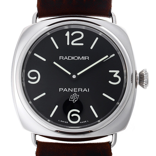 【48回払いまで無金利】パネライ ラジオミール ロゴ 3デイズ アッチャイオ PAM00753 U番 メンズ(0FHMOPAN0030)【新品】【腕時計】【送料無料】