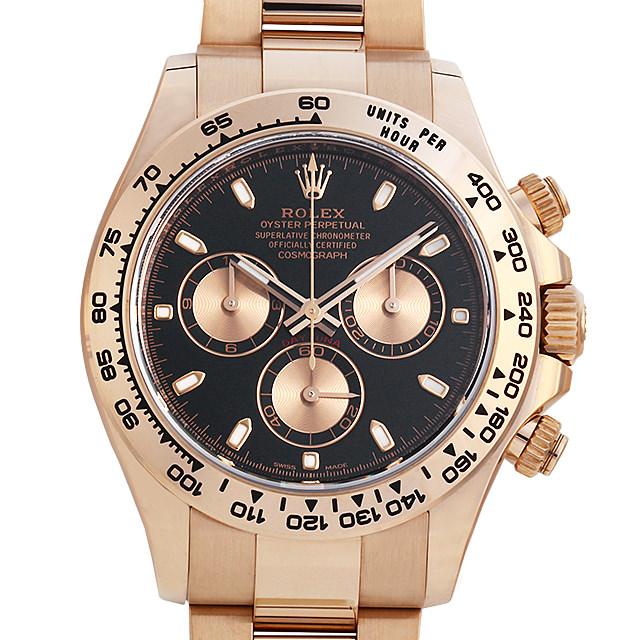 【48回払いまで無金利】ロレックス コスモグラフ デイトナ 116505 ブラック メンズ(002XROAS0013)【未使用】【腕時計】【送料無料】