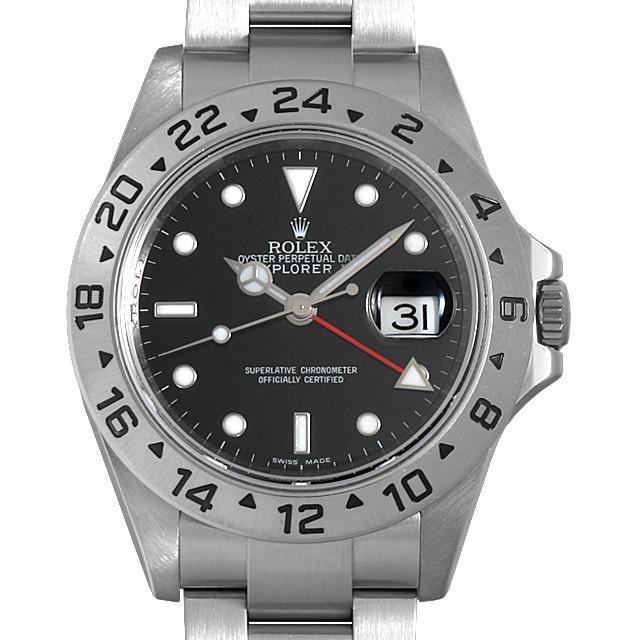 【48回払いまで無金利】ロレックス エクスプローラーII 16570 ブラック ランダムシリアル メンズ(001HROAU0270)【中古】【腕時計】【送料無料】